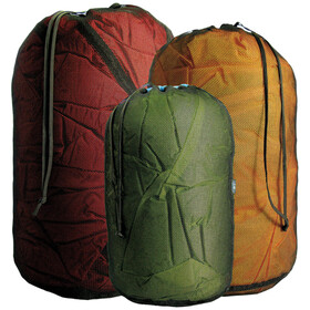 Sea to Summit Mesh Bagage ordening XS zwart/olijf